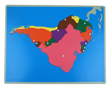 NEW South America Puzzle Map
