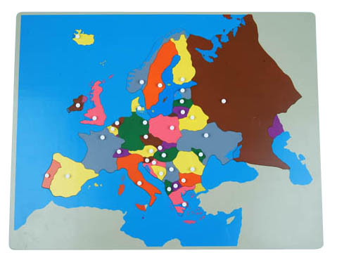 NEW Europe Puzzle Map