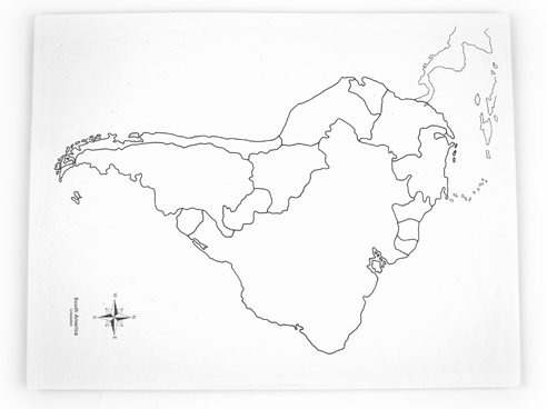 Map Of America Unlabeled.New South America Control Map Unlabeled